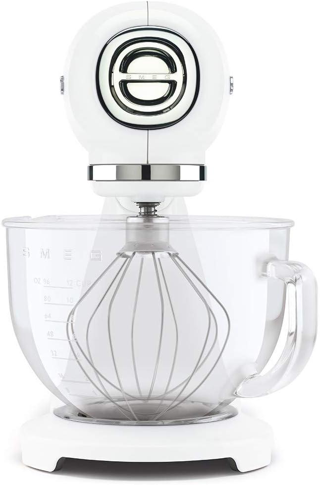 Smeg SMF13WHEU robot de cocina, 800 W, Vidrio, 10 Velocidades ...