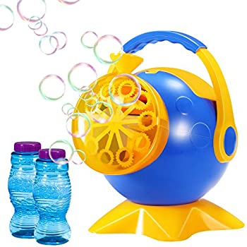 amazon com geekper bubble machine automatic bubble blower durable