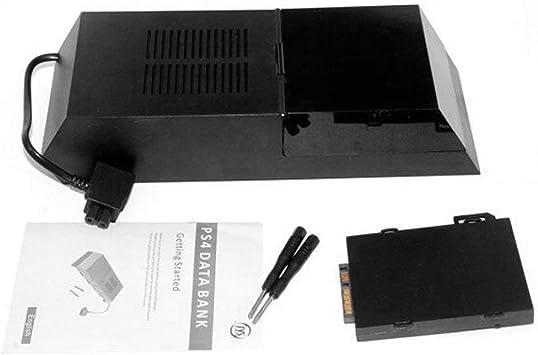 Caja de Disco Duro PS4 Extensor de Disco Duro Externo Estuche de Caja de Disco Duro Caja de expansión de Disco Duro SATA Soporte HDD de 3.5 Pulgadas (ToGames): Amazon.es: Electrónica