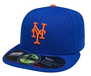 New Era 10047651, Men's Authentic Collection 59FIFTY-New York Mets Home 7 5/8