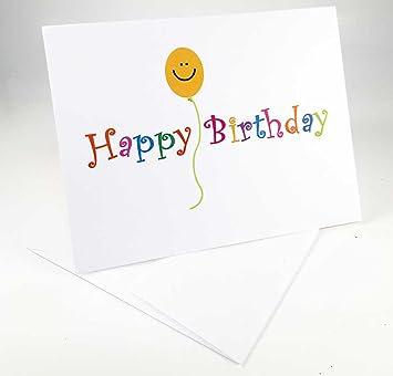 Amazon.com: 18 feliz cumpleaños y globo de cara sonriente ...