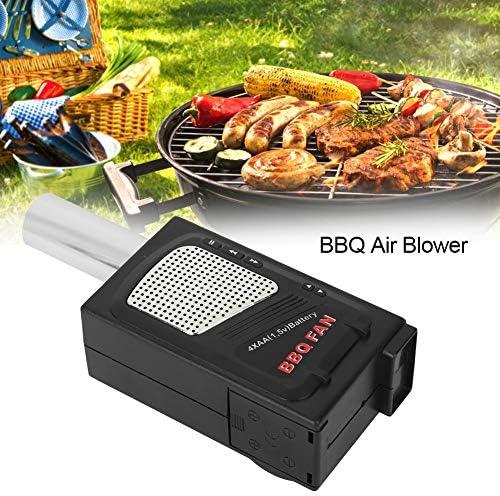 Soufflante, ventilateur portatif léger pour soufflante de barbecue pour le camping pique-nique faisant la cuisine en plein air petits grillades faisant la cuisine en plein air