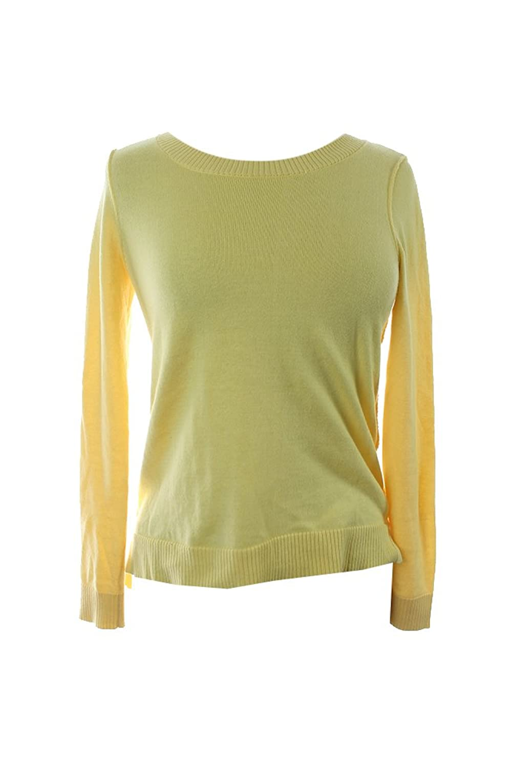 Inc. International Concepts Yellow High-Low Sweater M