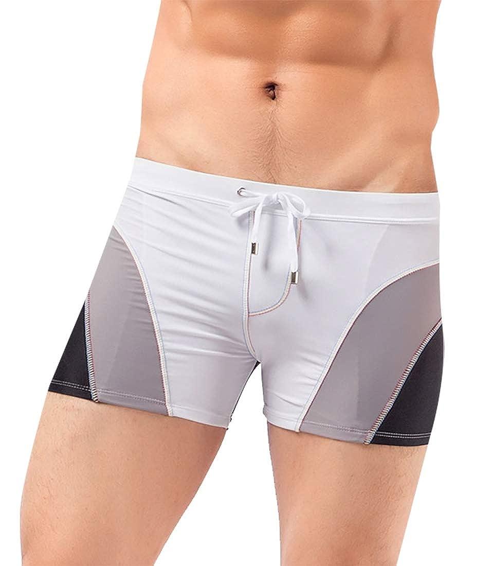 Esast Men Swimsuit,Beach Trunks Pants Print Running Swimming Underwear