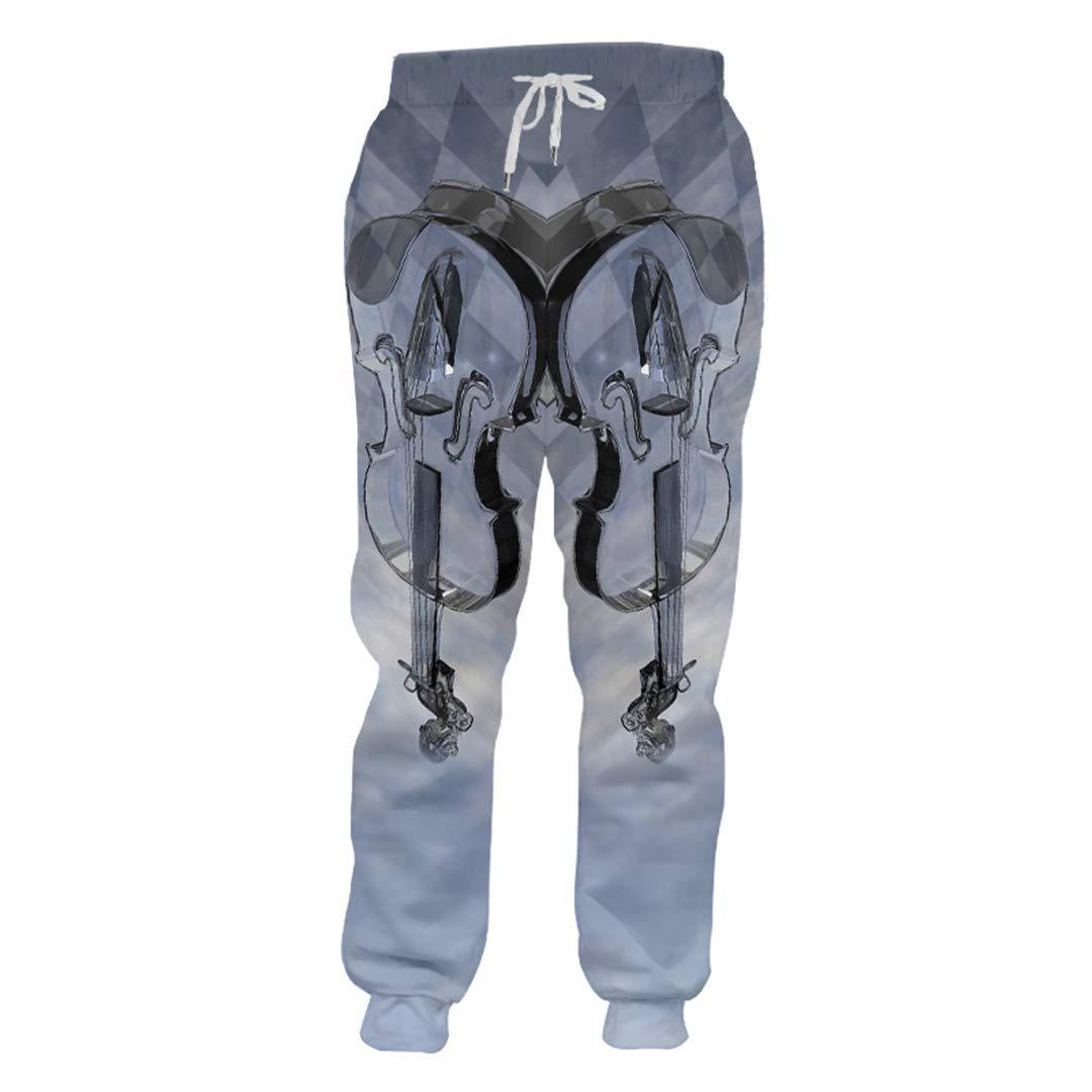 Pantalones de chándal para Hombre Pantalones Harem de Bolsillo de ...