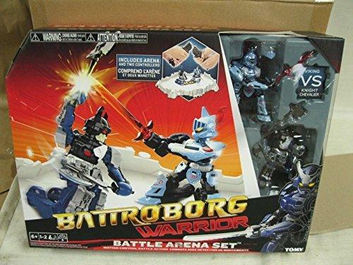 (Ship from USA) New Battroborg Warrior Battle Arena- Knight Vs Viking T60818 -ITEM#: G15/uiF982A27136