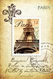 Fresh Scents Destination paris scented sachets, 6 Count