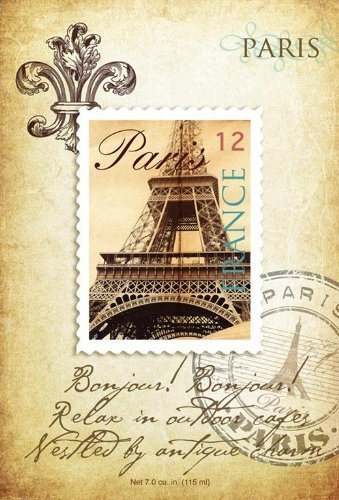 Fresh Scents Destination paris scented sachets, 6 Count by Fresh Scents by Terri
