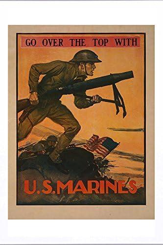 Repro WWI Marine//USMC Service Coat Button Set