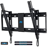 Mounting Dream MD2165-LK Tilt TV Wall Mount Bracket For Most of 37-70 Inches TVs with VESA 200x100 To 600x400mm and Loading Capacity 132 lbs, Fits 16, 18, 24 Studs