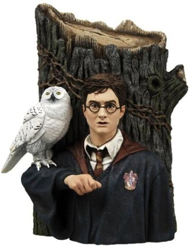 Harry Potter NECA Harry & Hedwig Bookends