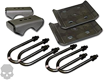 """Spring Width 3.0 Axle Tube Diameter 3.0/"""" 3.125/"""" Leaf Spring Plates and 3.25"""