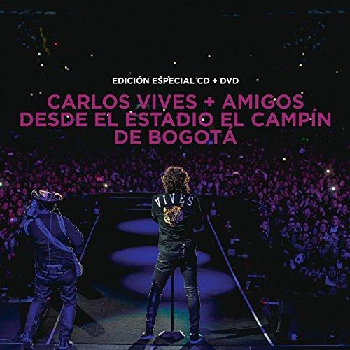 Carlos Vives (CD+DVD ''+Amigos Desde el Estadio El Campin de Bogota Sony-948628) by Sony Music