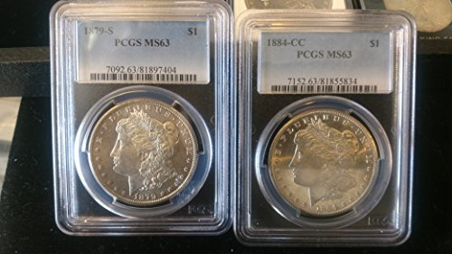 1879 Various Mint Marks Morgan Dollar MS63 ()
