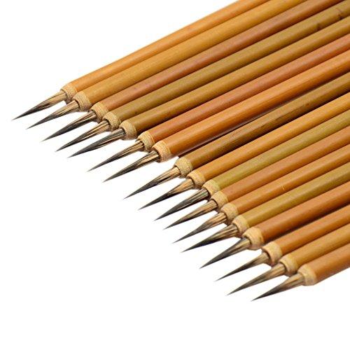 Chinese Painting Brushes Wholesale Extra Fine Line/Contour Brushes, 18 (Wholesale Paint Brushes)
