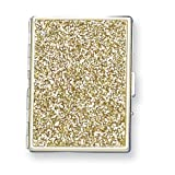 Nickel-plated or Brass-plated Glitter Cigarette/Card Case Home Garden Living Gifts