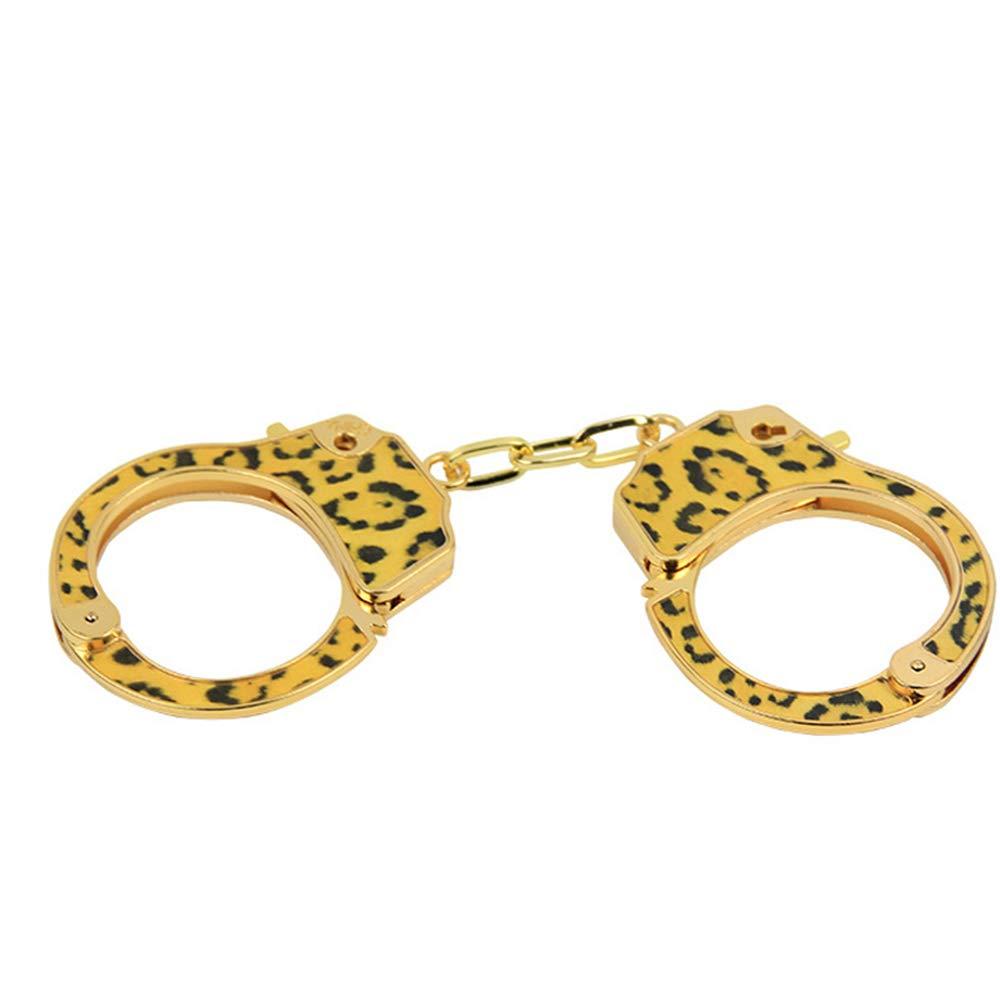 UitraLove Simulación de esposas de leopardo vinculante vinculante coqueteo coqueteo vinculante artículos de los amantes 8f690f