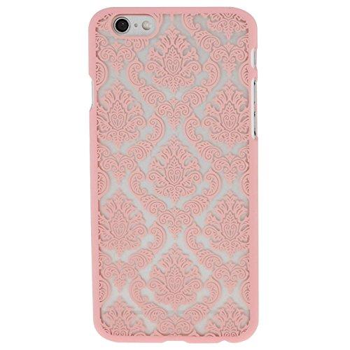Phone Taschen & Schalen Retro Palace Embossed Blumen Pattern Schutzhülle für iPhone 6 Plus & 6s Plus ( Color : Pink )
