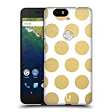 Head Case Designs Dots Grand As Gold Hard Back Case for Huawei Nexus 6P