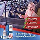 Treadmill Belt Lubricant | 100% Silicone | USA Made | No Odor & No Propellants | Applicator Tube for Full Belt Width Lubrication at a Controlled Flow-So Easy
