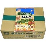 【新潟県限定】 柿チョコ笹だんご味 1ケース(65g×12袋入)