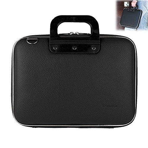 15.4in Messenger - 15-15.6 Inch Waterproof Leather Laptop Shoulder Bag Messenger Sleeve Bag for Macbook Pro 15.4-inch | Protective 15.6