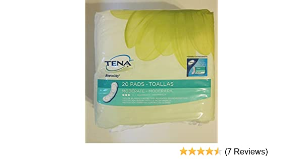 Amazon.com: Tena Intimates Moderate Regular Pads, 20 Count, Pack of 4: Home Improvement