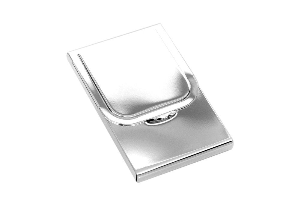 Visitenkartenetui Kreditkartenetui Versilbert Kartenetui Etui Gravur Metall Dose Brillibrum Flyer Geschenke Für Ostern Geschenkidee