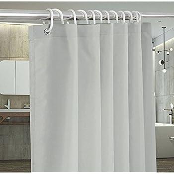 Wonderful UFRIDAY Gray/Grey Shower Curtains For Bathroom, Plain Shower Curtain  72x72 Inch Mildew