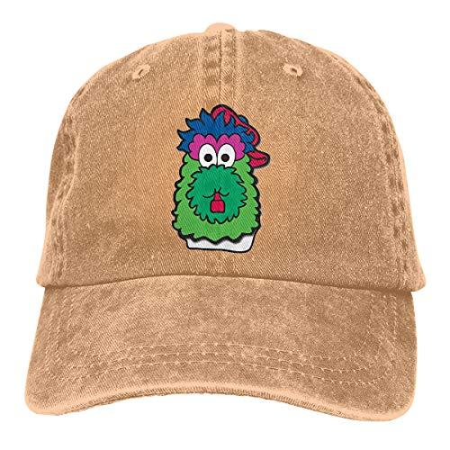 Philadelphia Baseball Fan Phillie Phanatic Dad Hat Unisex Cotton Low Profile Distressed Vintage Baseball Cap ()