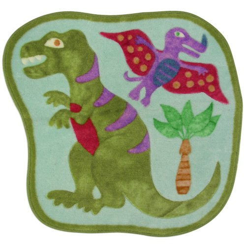 Allure Home Creations Dinosaur Friends Bath Rug