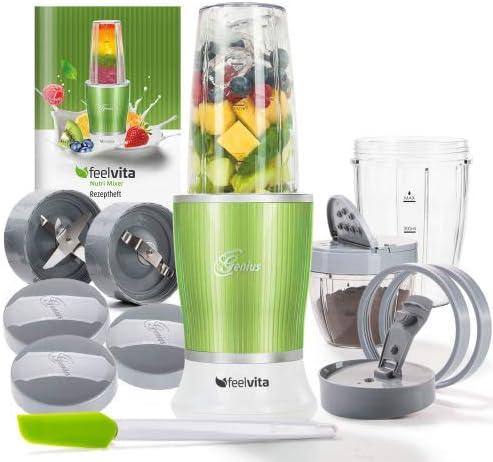 Genius Feel Vita NUTRI Licuadora | verde | 14 piezas | Stand de ...