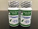 7 Flower Extract 2 Bottles of 60 caps, Dr. Charlie's Formula Review
