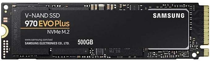 Samsung 970 EVO Plus 500GB PCIe NVMe M.2 (2280) Internal Solid State Drive (SSD) (MZ-V7S500)