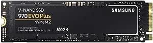 Samsung 970 Evo Plus 500GB, 64L 3-bit, MZ-V7S500BW