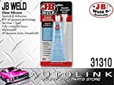 J-B Weld 31310 All-Purpose RTV Silicone Sealant and Adhesive - 3 oz. - Clear