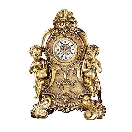(Design Toscano Saint Remy Cherub Clock )