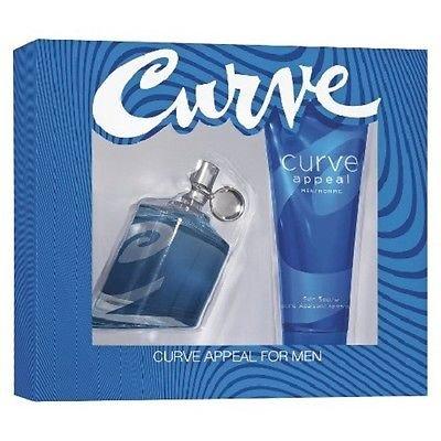 Curve Appeal for Men Gift Set 2.5 oz Spray & 3.4 oz Skin Soother ()