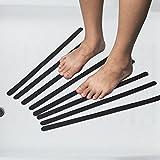 Yahee Antirutschmatte Rutschschutz 18x Anti Rutsch Streifen für Duschen & Badewannen, selbstklebend