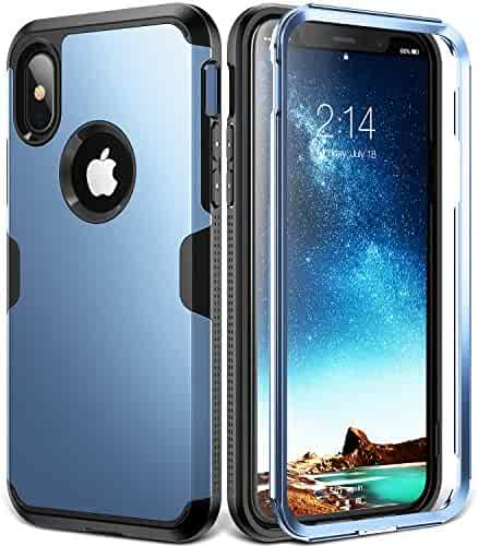 buy online f5806 d9c6f Shopping YOUMAKER - iPhone X or Samsung Galaxy S 9 Plus - Heavy Duty ...