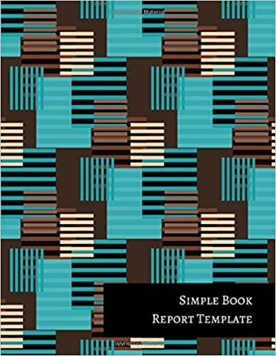 Simple Book Report Template: Journals For All: 9781521322819: Amazon ...