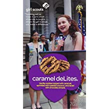 Girl Scout Caramel DeLites Cookies 7 Ounce Box