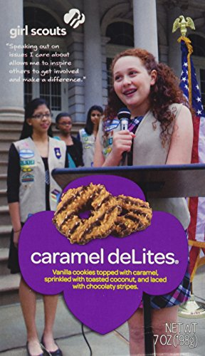 (Girl Scout Caramel DeLites Cookies 7 Ounce Box)