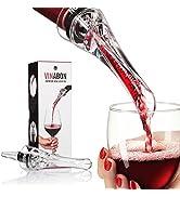 VINABON Wine Aerator for Wine Bottles - Premium 2-in-1 Wine Air Aerator and Wine Aerator Pourer S...