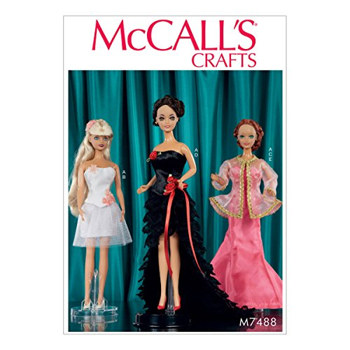 - McCalls Pattern 7488 Special Occasion Dresses for 11 1/2