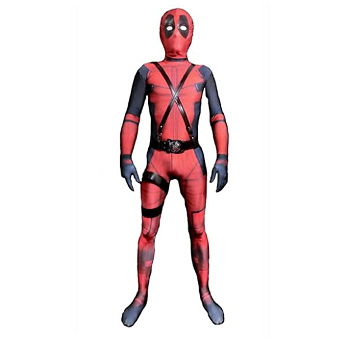JerriyCostumes Zentai Halloween Unisex Lycra Spandex Cosplay Costumes Adult//Kids 3D Style