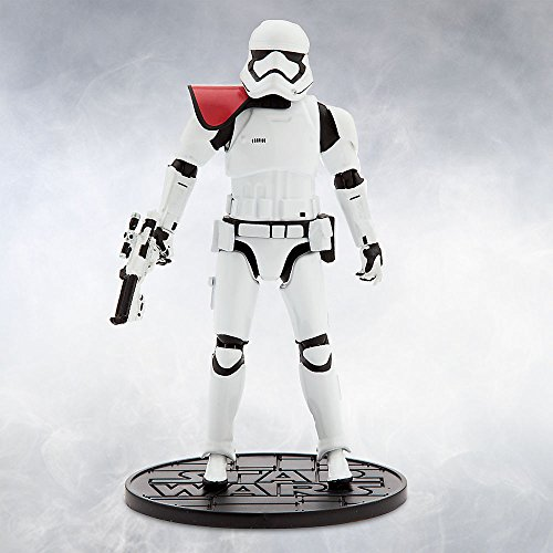 [Star Wars First Order Stormtrooper Officer Elite Series Die Cast Action Figure - 6 1/2 Inch - Star Wars: The Force] (Stormtrooper Disney)