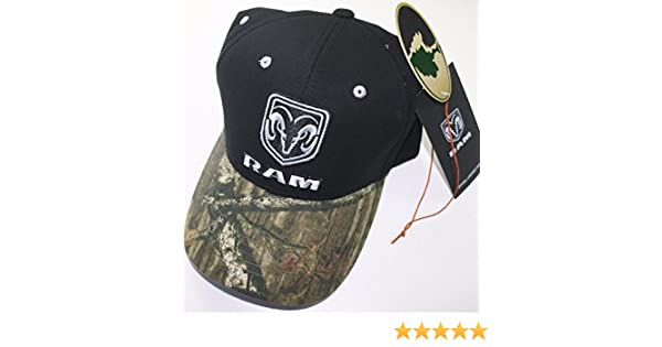 668653e0 Amazon.com: dodge ram mossy oak camo head logo mopar trucker baseball cap  truck hat car rt: Sports & Outdoors