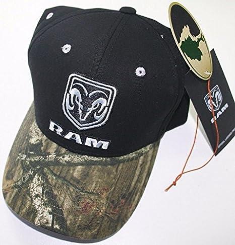 Amazon.com  dodge ram mossy oak camo head logo mopar trucker baseball cap  truck hat car rt  Sports   Outdoors c3c8e0520d9b