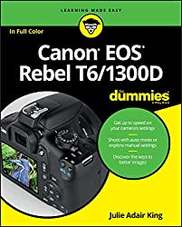 Image of the product Canon EOS Rebel T6/1300D that is listed on the catalogue brand of Brand: For Dummies.